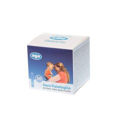 Soro-Fisiologico-Esteril-AGA--5-ML--Caixa-30-Unidades