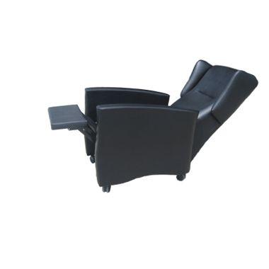 Cadeirao-Relax-Manual-com-Rodas-Preto-Modelo-Eco-Napa
