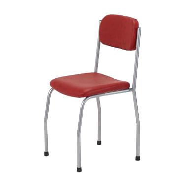 Cadeira-estofada-em-metal