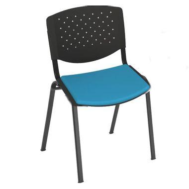 Cadeira-Simples-encosto-em-PVC-assento-estofado