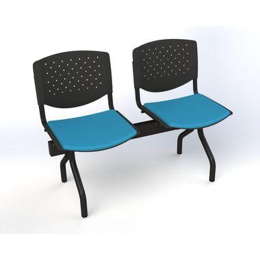 Banco-de-Sala-de-Espera-2-Lugares--assento-estofado-