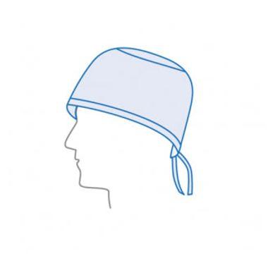 Gorros-Cirurgico-Universal-em-PP-Azul-com-Tiras--100-unid-