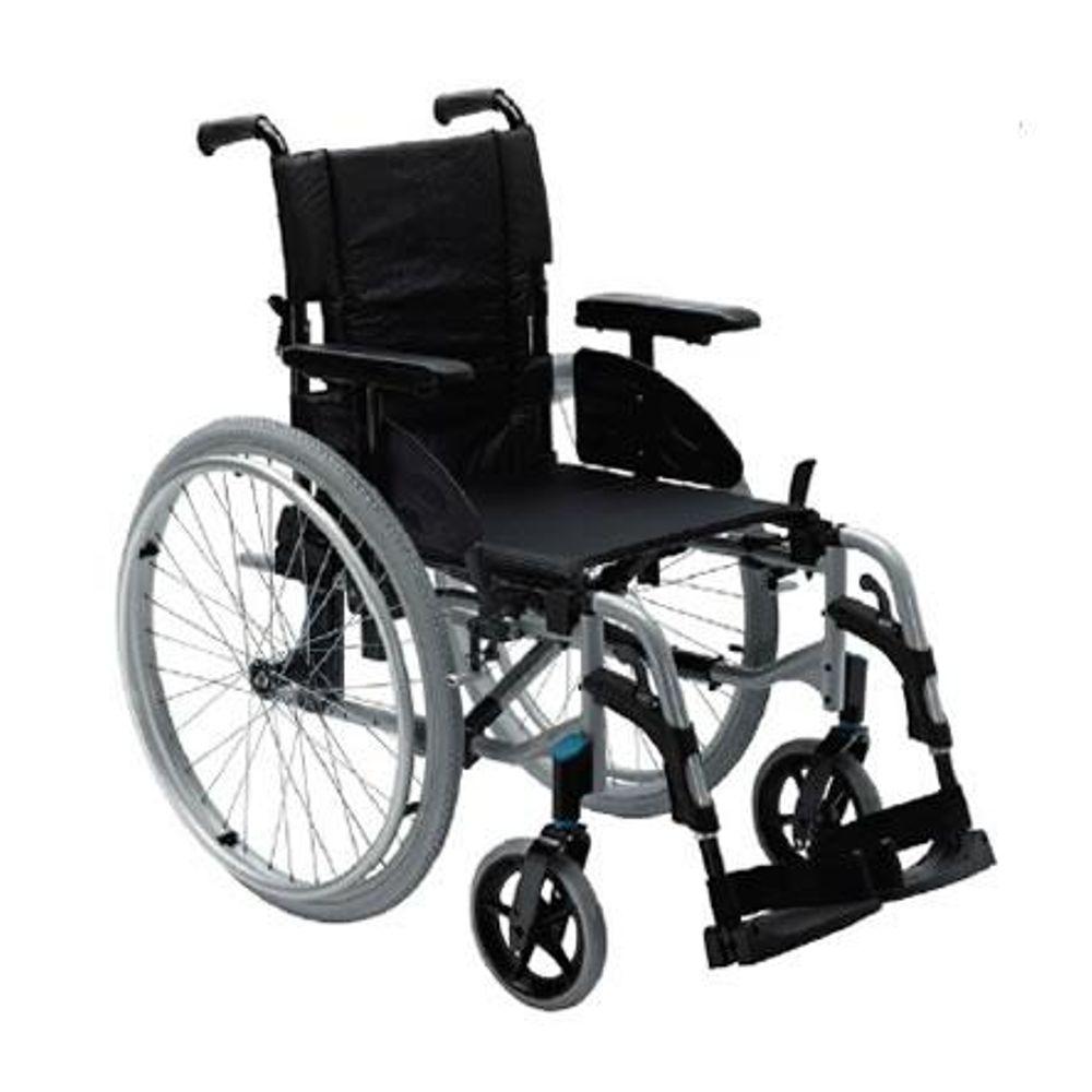 Cadeira de rodas | Dobrável | Rodas grandes | Alumínio