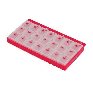 Organizador-de-Medicamentos-Semanal-S3-Vermelho--3-x-dia-