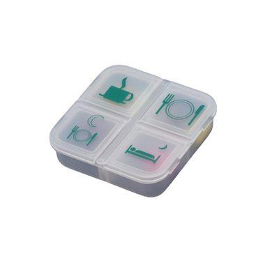 Porta-Comprimidos-Transparente-e-Verde--4-Compartimentos-