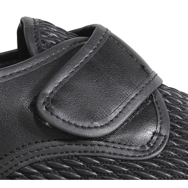 Sapato Buçaco Stretch Preto Loja Ortopédica ®