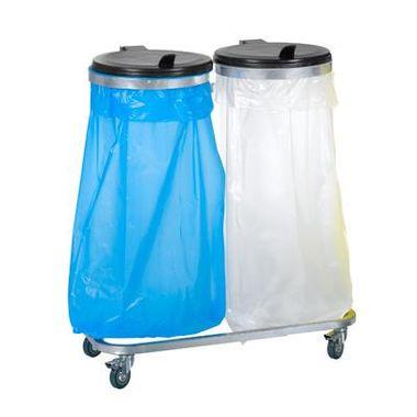Carro-para-lixo-com-suporte-duplo