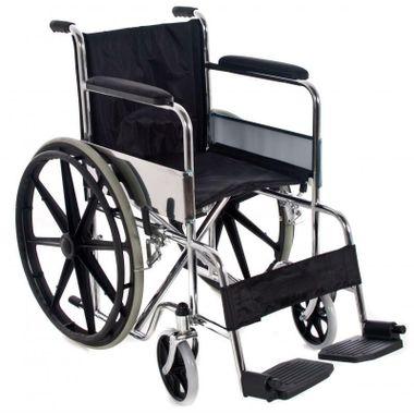 Cadeira-de-Rodas-em-Aco-Cromado-Dobravel