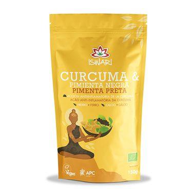 Curcuma-e-Pimenta-Preta-Bio-150-g